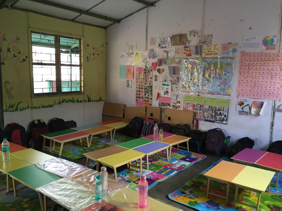 The new classroom