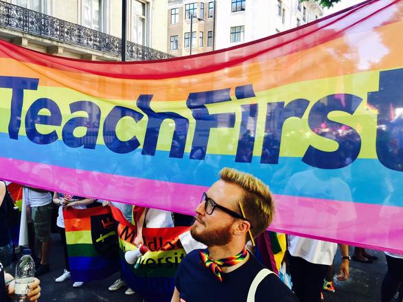 Teach First at Pride