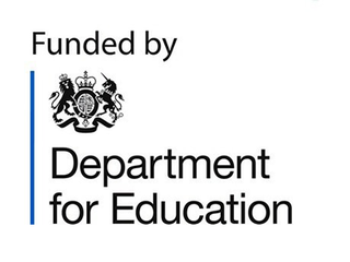 Funded by the DfE logo