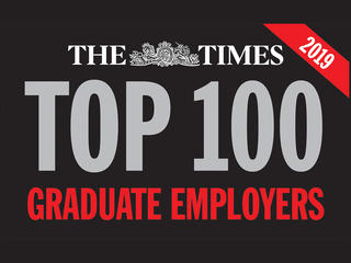 One of the Times top 100 graduate employers in 2019